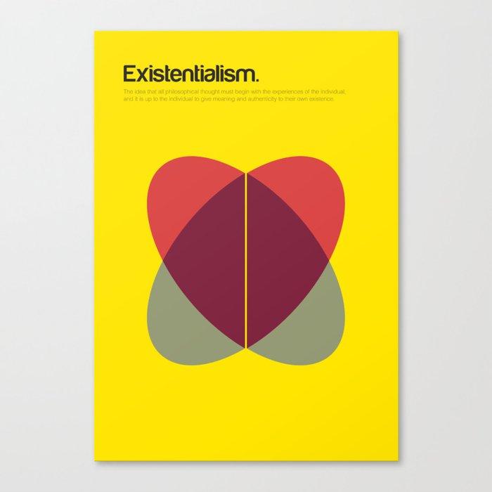Existentialism Canvas Print