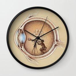 Extraordinary Observer Wall Clock