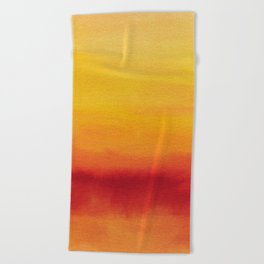 Abstract No. 185 Beach Towel