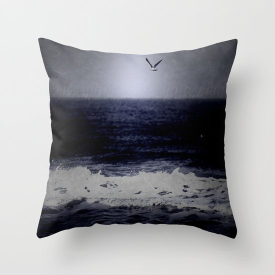 The wind calls your name Throw Pillow