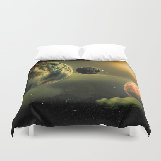 Space One Duvet Cover