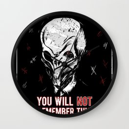 You will NOT remember this! Wall Clock