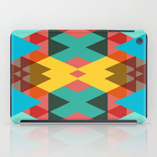 Geometric Crazy 3D iPad Case