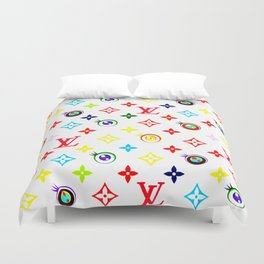 Takashi Murakami LV Collaboration Vuitton Duvet Cover