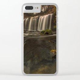 Cascade Falls Clear iPhone Case