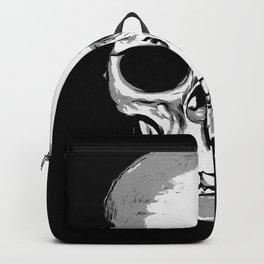 Monotone Skull Backpack