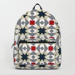 Star quilt square Backpack