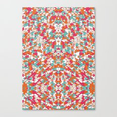 Chaotic Triangle Balance Canvas Print