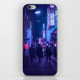 Tokyo Nights / One Minute To Midnight / Liam Wong iPhone Skin
