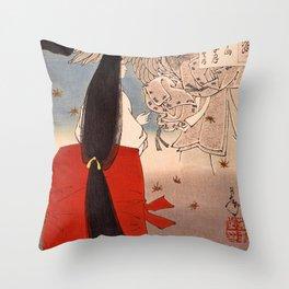 12,000pixel-500dpi - Tsukioka Yoshitoshi - Top Quality Art - IGANOTUBONE Throw Pillow