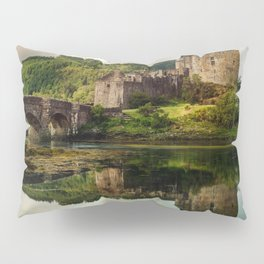 Landscape with an old castle Pillow Sham