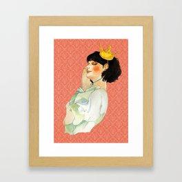 Sleeping Beauty Framed Art Print