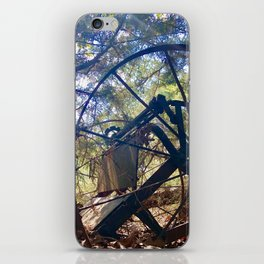 Carriage Ride Through Time iPhone Skin