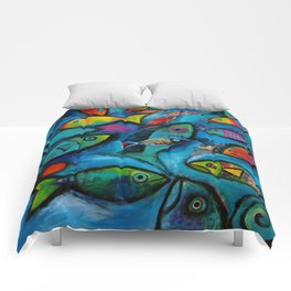 Plenty of fish in the sea Comforters
