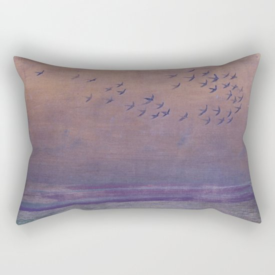 'under every deep a lower deep opens' Rectangular Pillow