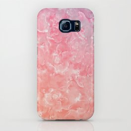 Rose & Gold Mother of Pearl Texture iPhone Case