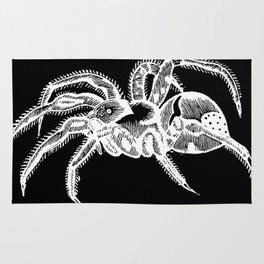 Tarantulas | Spiders | Halloween Decor | Witchy Decor | Wiccan Decor Rug