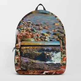 North Shore Waves 2 Backpack