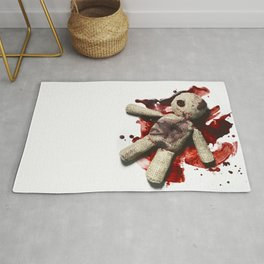 Bloody sack doll Rug
