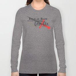 Finding Trouble (original) Long Sleeve T-shirt