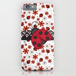 Charming Ladybugs iPhone Case