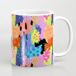 Neon Abstract Summer Splash Coffee Mug