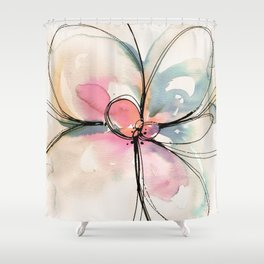 Ecstasy Bloom No.21j by Kathy Morton Stanion Shower Curtain