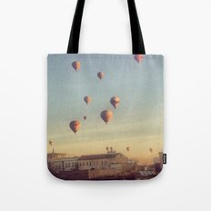 Cappadocian Hot Air Balloons Tote Bag