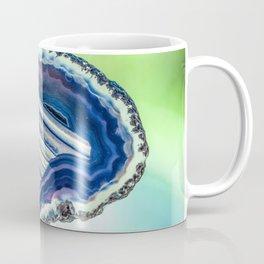 Blue purple geode Coffee Mug