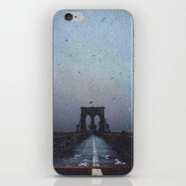 Brooklyn Bridge in the Dark iPhone Skin