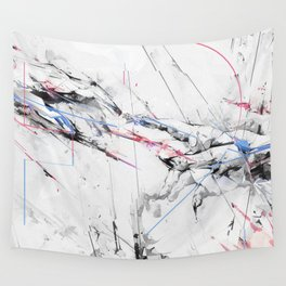 Marble hands art Wall Tapestry