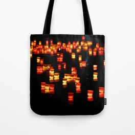 Floating Laterns Tote Bag