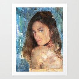 Ritratto di Tonia Art Print
