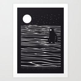 Scary monster! Art Print