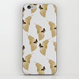 Butterfly & Palm iPhone Skin