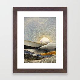 Morning Sun Framed Art Print