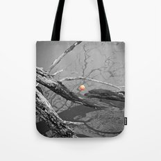 Left Hanging Tote Bag
