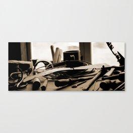 Workbench Canvas Print