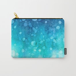 Deep sea watercolor abstract Carry-All Pouch