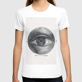Menselijk oog met een afwijking (1836-1912) print in high resolution by Isaac Weissenbruch T-shirt