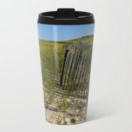Cape Cod Beach Dunes Metal Travel Mug