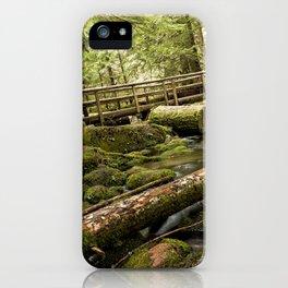 McKenzie River Trail No 1 iPhone Case