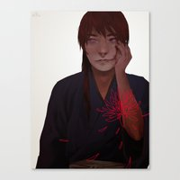 rk design Canvas Prints featuring rk by qiow