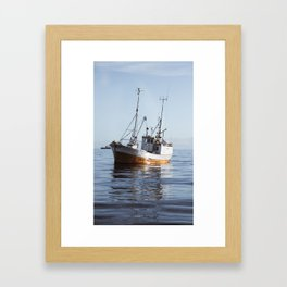 Lofoten Sjark Framed Art Print