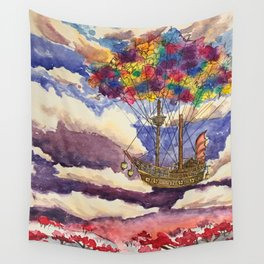 Sadako's Airship Wall Tapestry