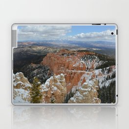 Snow in Bryce Canyon Utah Laptop & iPad Skin