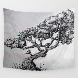 Stripple Tree Wall Tapestry
