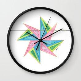 BRINGS BACK THE FUN STAR Wall Clock