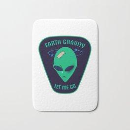 Earth gravity, let me go Bath Mat