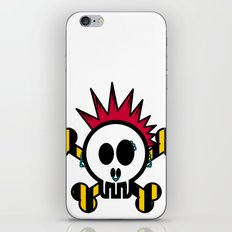 :::::::::PUNK SKULL:::::::::: iPhone & iPod Skin